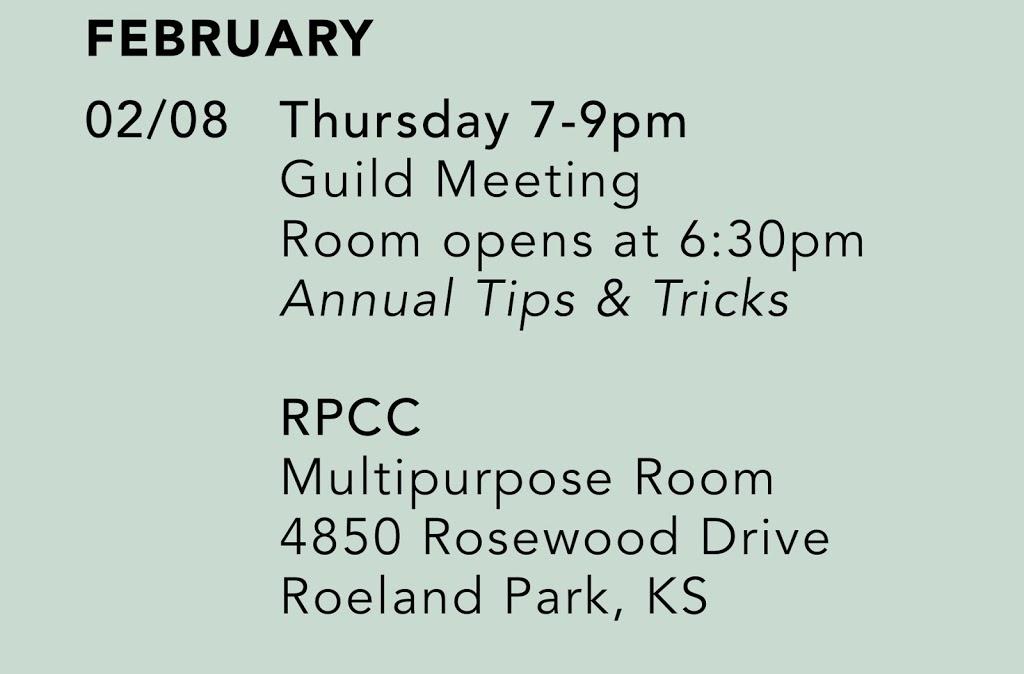 February Meeting!