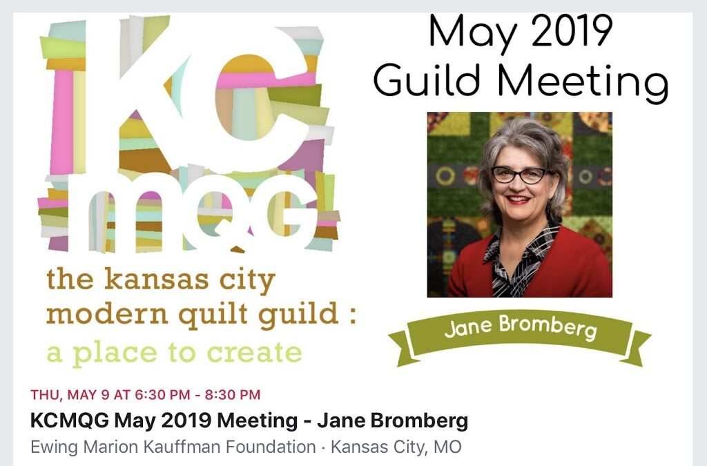 May's Guild Meeting…