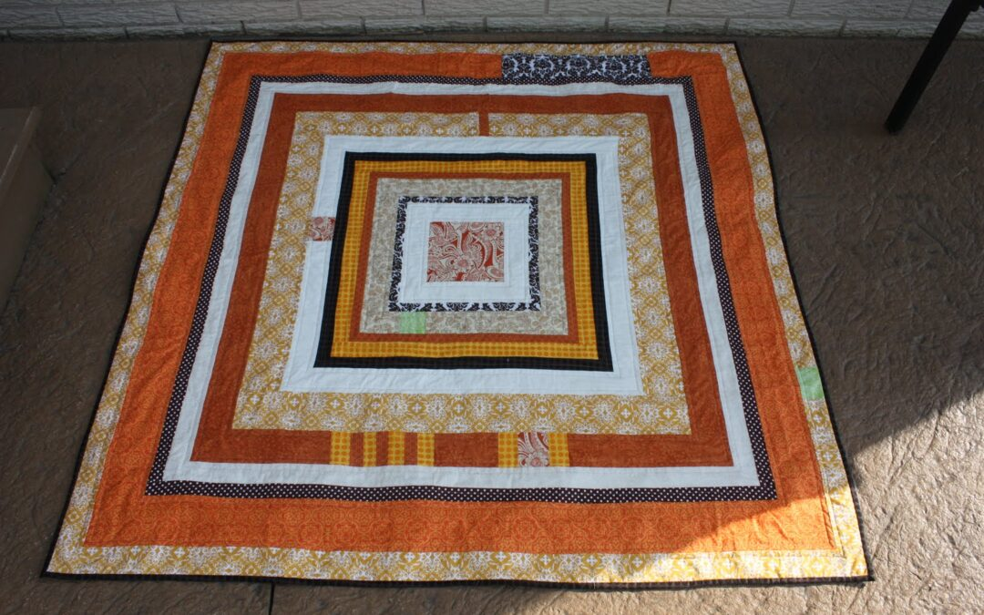 Inspiration of the Week – Housewarming Quilt