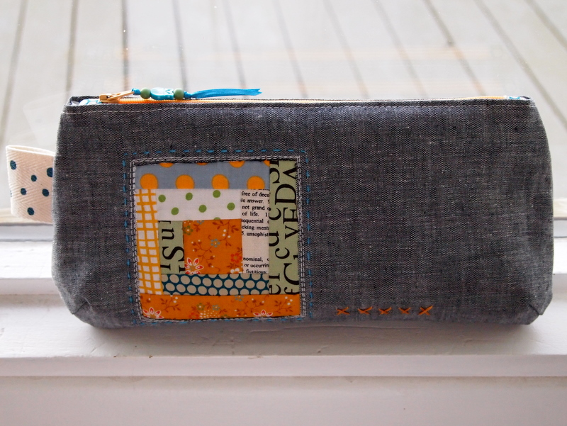 Inspiration of the Week – Log Cabin Pouch