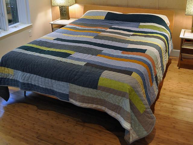 Inspiration of the Week – Putnam-Hauser Linen Quilt