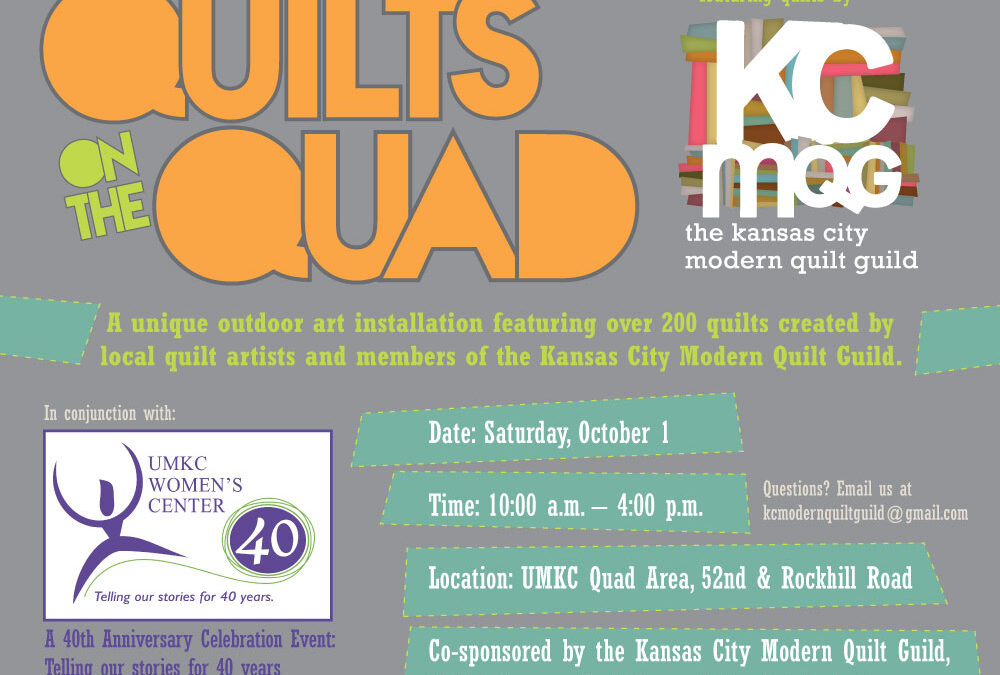Quilts on the Quad – October 1, 2011