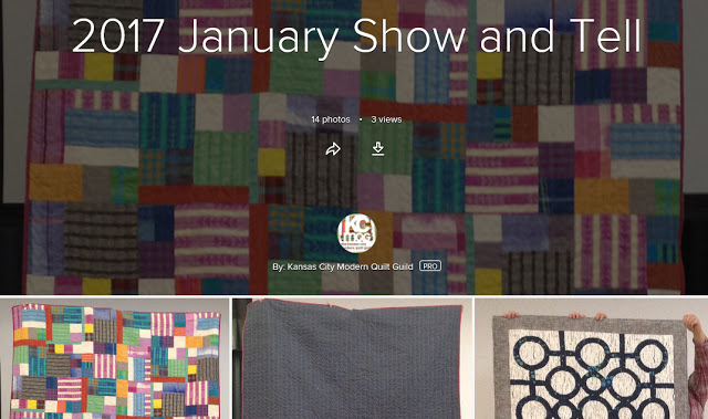 January Show and Tell and Rob Appell Trunk Show