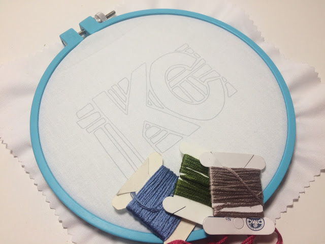 Happy Hour Embroidery Workshop Signups with KC's own Hey Paul!